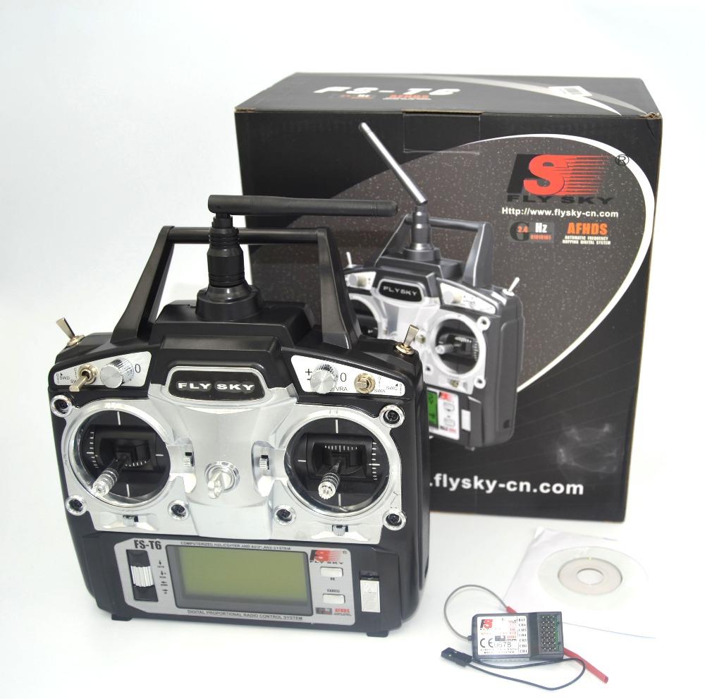 FlySky FS T6 2.4G 6CH TX RX FS R6B RC Radio Control ...  FlySky FS T6 2....
