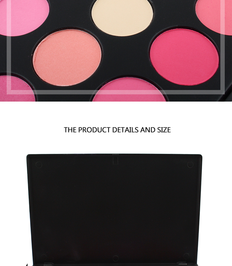 Make private label cosmetica palet 28 kleur blush palet