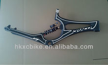 2014 Draco No Turning Point Soft Tail downhill bike frame bike carbon frame