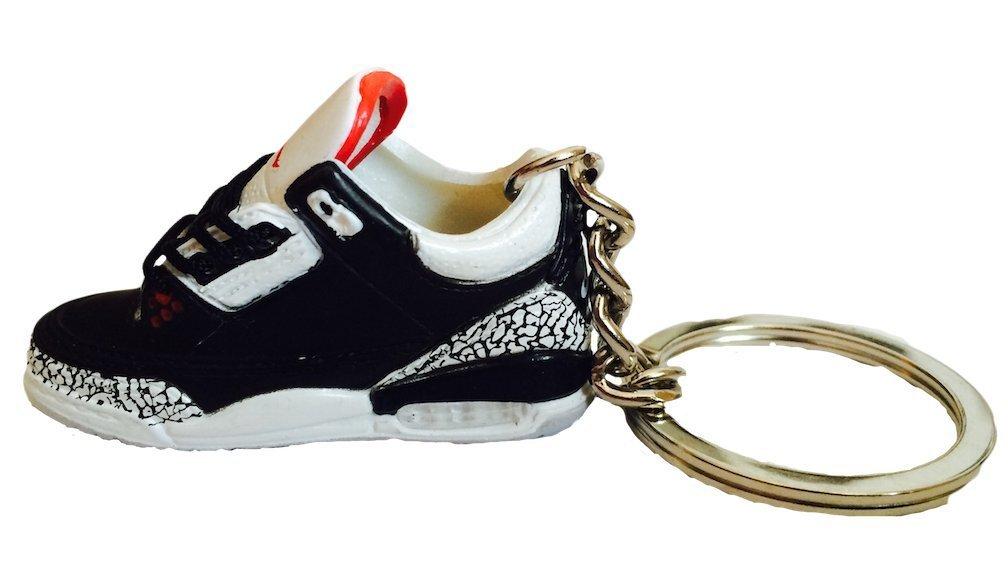 ddf2203fa94811 Get Quotations · Nike Jordan 3 III Black