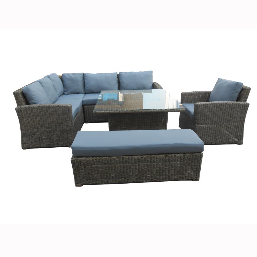 Outdoor Rattan Corner Sofa Esr 14291 Garden Furniture Set