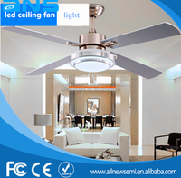 Sitting room ceiling fan with light modern decorative ceiling fan with led lights