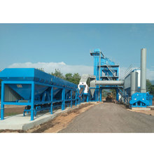 120t/h stationary asphalt batching plant used with good quality