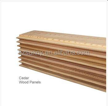Western Red Cedar Wood Wall Panel Board