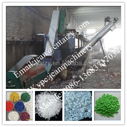 plastic bag extruder production line / plastic pellet making machine / plastic product for sale