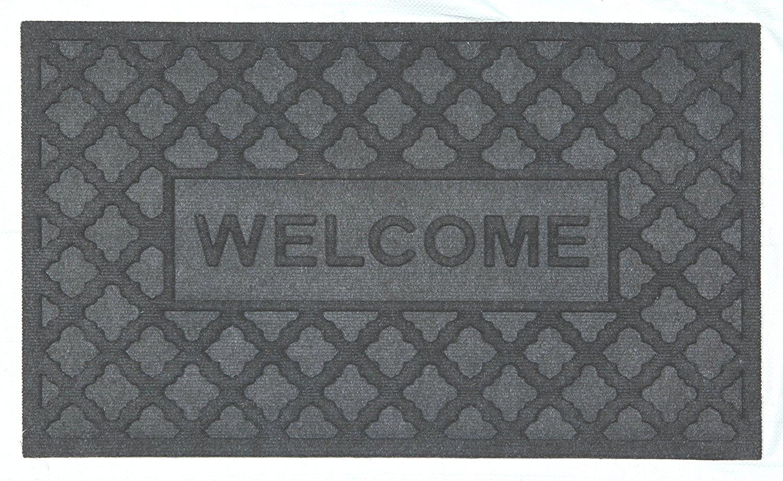 Get Quotations · POLYPROPYLENE DOOR MAT Entrance Way Mat| Indoor/Outdoor Door  Mat| Front Waterhog Low