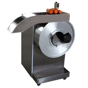 Industrial manual pumpkin potato finger chips cutting white radish cutter machine