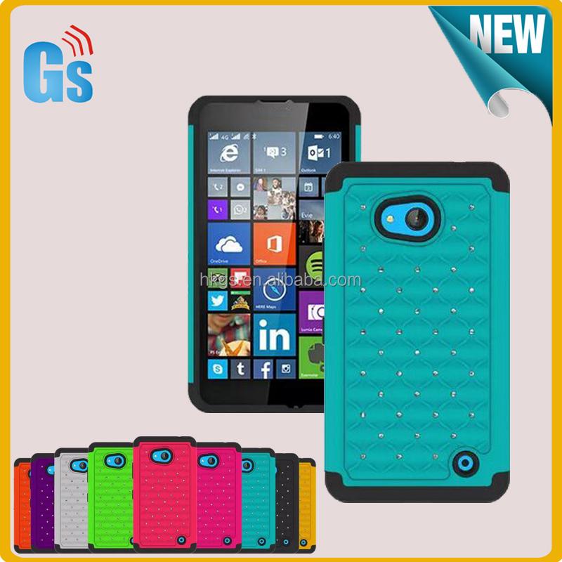 e400841e3b8 Diamante caso a prueba de choque para Microsoft para Nokia Lumia 640  RM-1109 1113