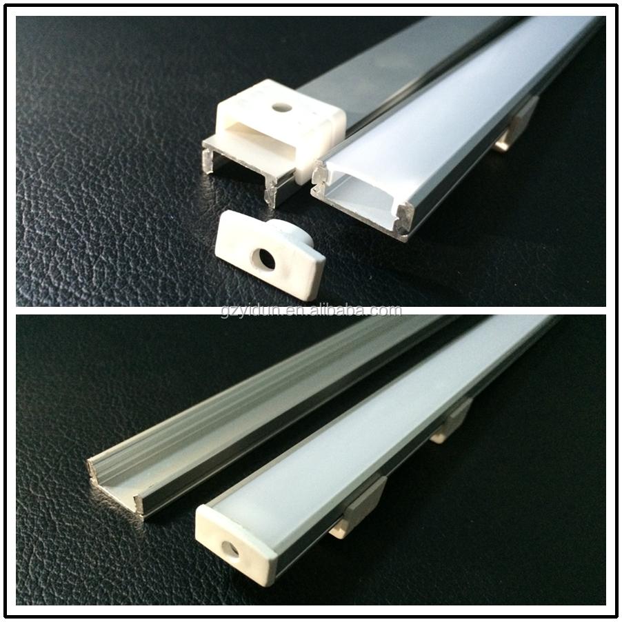 Vivienda perfil de aluminio para tiras de led de luz - Iluminacion led para banos ...