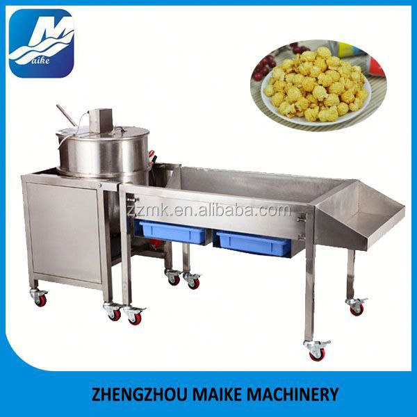 Popcorn Making Machine / Industrial Hot Air Popcorn Popper
