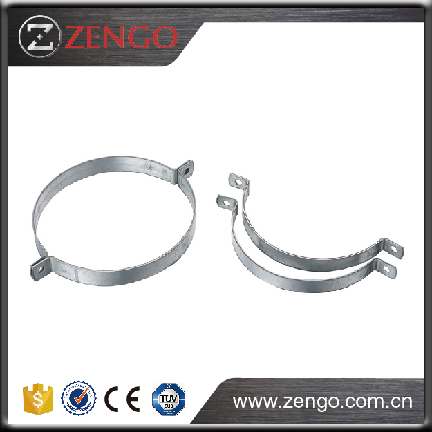 At insulated duct it is recommended that the suspension ring,For suspension of circular ducting,SCP-C,Split Rings for Air Duct