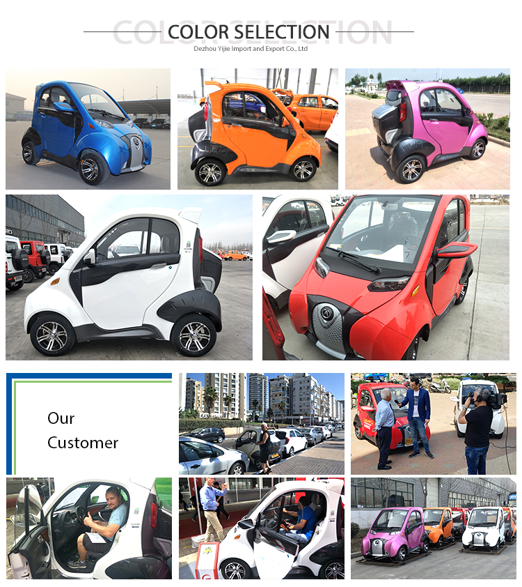 EEC Mini Electric Auto 4 Wheel Electric Car EEC Approved Electric Vehicle