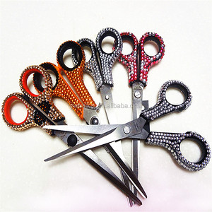 Sales office gift diamond crystal scissors