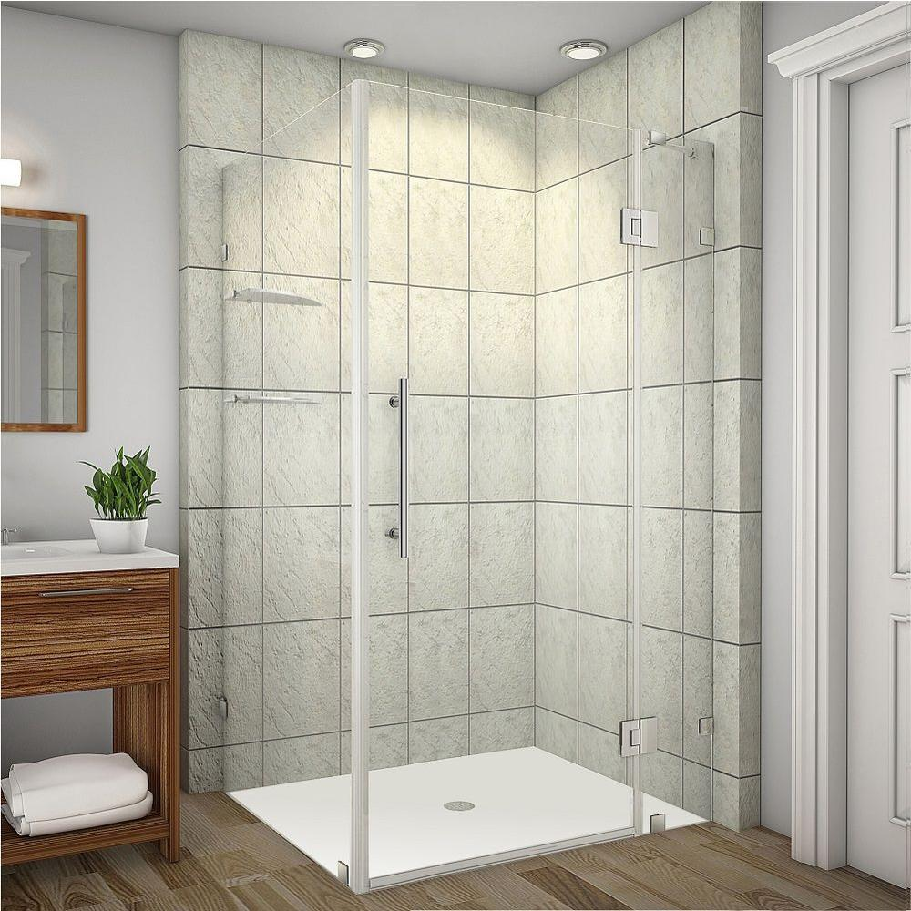 Free Standing Glass Shower Enclosure - Buy Glass Shower,Free ...