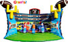 Football Challenge inflatable soccer goal/inflatable football sport games