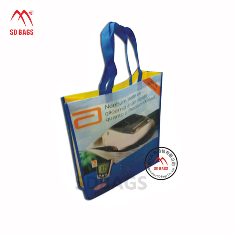 China Professional Manufacturer pp non woven shopping bag , pp non woven bag