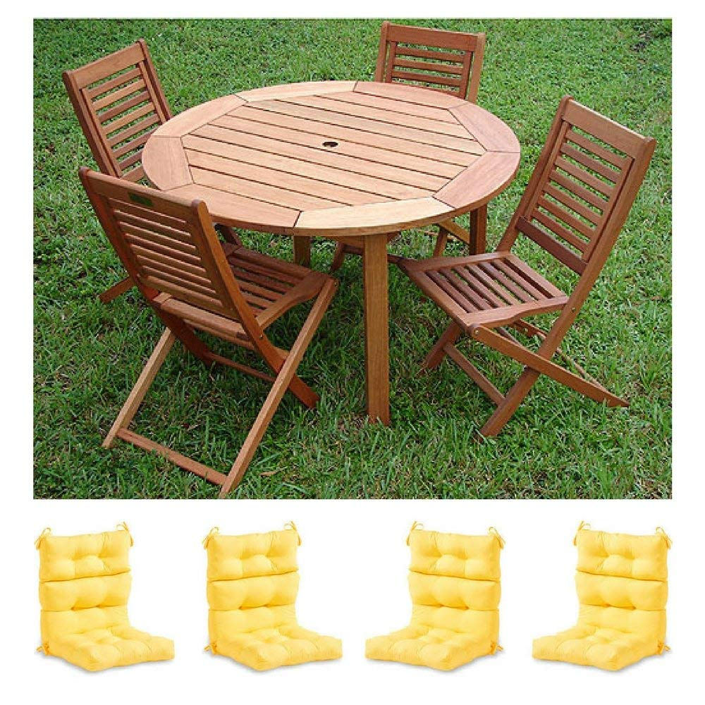 Buy Set Of 4 Outdoor Dining Chair Cushion 42quot X 21quot X