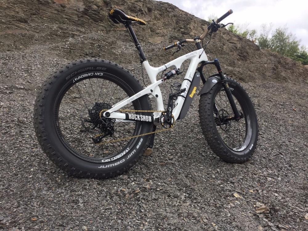 Imust Sports Malamute Carbon Full Suspension Fat Bike Xt