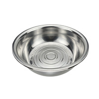 wholesale large kitchen mix tableware hand foot stainless steel metal wash basin