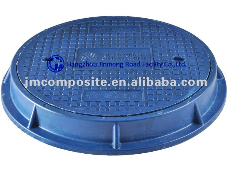 700mm Round SMC frp composite Manhole Cover En124