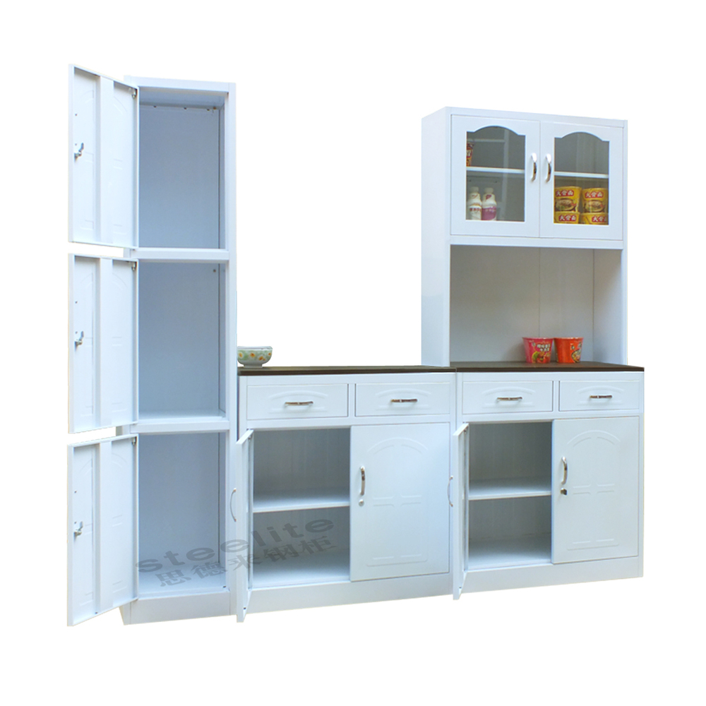 2015 cheap modular kitchen cabinet price luoyang office for Stainless steel kitchen cabinet price