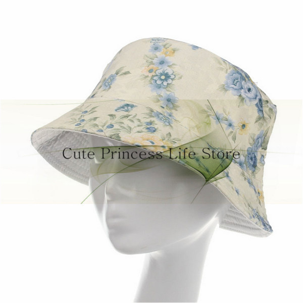 81373195 Get Quotations · fashion wholesale Custom Bucket Hat,wholesale women floral bucket  hat