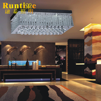 2017 Modern Square Shape Crystal Ceiling Lighting Clical Chandelier Rt8702 18