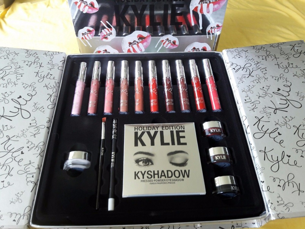 Kylie Cosmetics Holiday Box Limited Edition Lip Kit