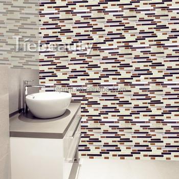 12 Auto Adhesif Mur Carrelage Autocollant Amovible Mur Cuisine