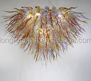 LR182-Fancy Light And Luxury Blown Glass Chandelier
