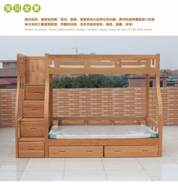 Lit Bois Massif Ikea : le lit de ikea enfants h tre en bois massif lit superpos lit de cluster lit haute et basse sous ~ Teatrodelosmanantiales.com Idées de Décoration