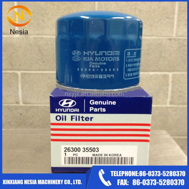 Nesia Supply Hyundai Original oil filter OEM 26300-35503