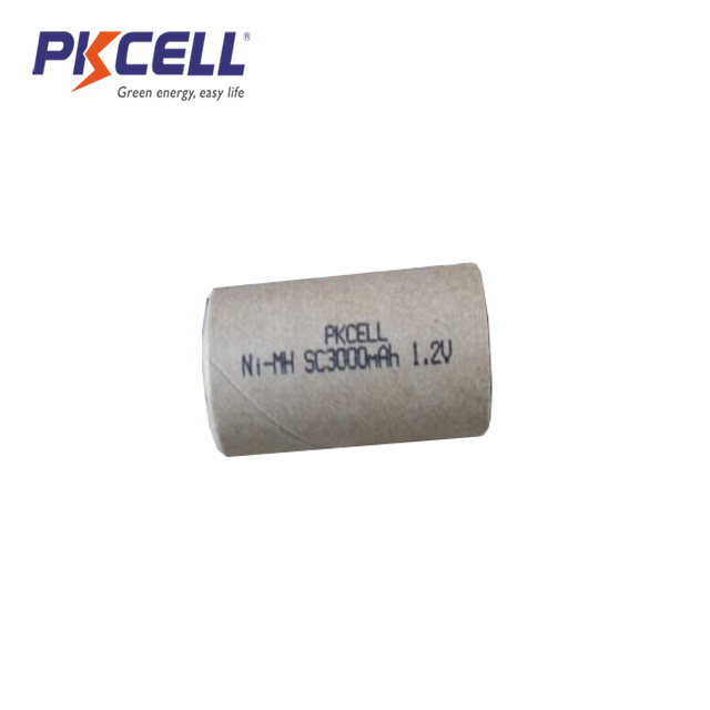 Good Power Paper Battery Jacket 1.2V NIMH SC3000mAh SC3000 NI MH Rechargeable Battery Pack