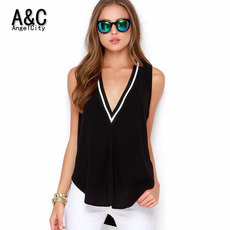 Большой размер 6xl глубокий v-образным рубашки для женщин рукавов футболка винтаж топы Tee tshirt DE018