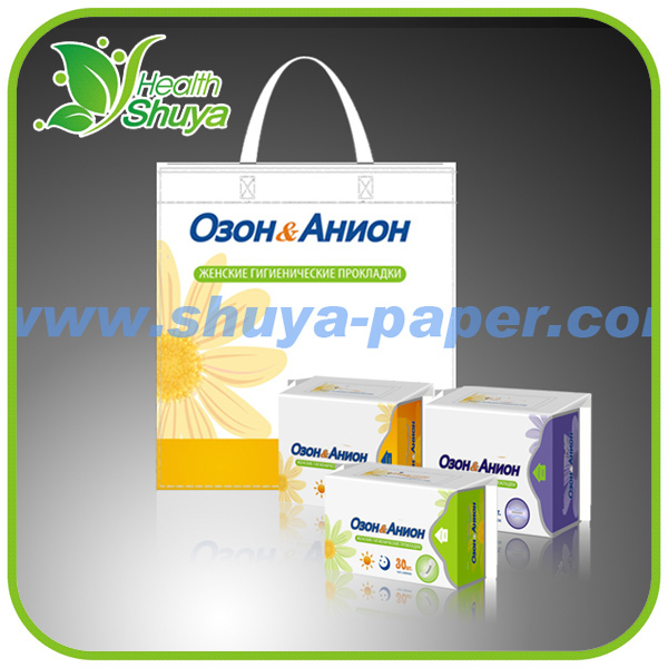 8 layers Feminine hygiene products herbal sanitary napkin for women use in period