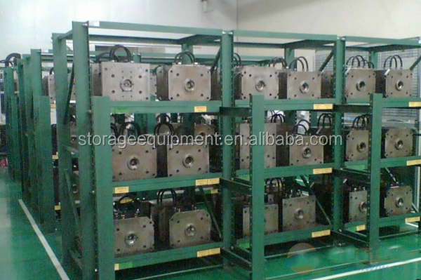 2018 Hot Selling Heavy Roll Out Mold Storage Rack Die