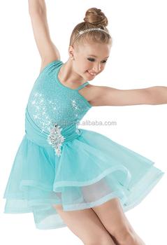 062523c51 Mb2015182 Cute Sequin Tulle Bustle Leotard Ballet Competition Dance ...