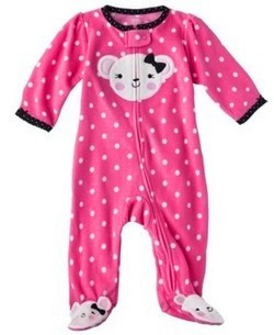 Footed Pajamas For Baby Girl Breeze Clothing