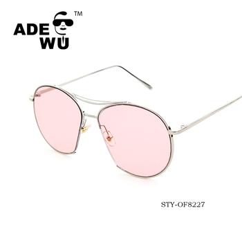 Rose Modèle Vogue 2016 Marque Lunettes De Lentille Etoiles Wu Italienne Soleil Surdimensionné Ade Buy Chaud EH29IDbeWY