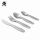 Lovely kids cutlery set stainless steel children flatware sets