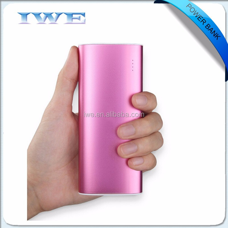 Wholesale instant mobile phone charger portable power bank moblie powerbank 10400 mAh