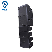 Double 10 inch High Quality Customized Powered Line Array Sound System Speakers