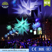 Alibaba inflatable birthday party decorations 5 colors inflatable star for advertising