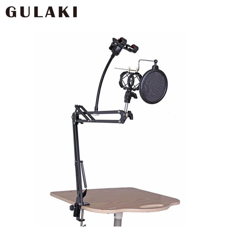Professional Microphone Stand cell phone stand