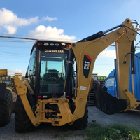 Cheap price Used Caterpillar CAT 430F Backhoe Loader, USA CAT 430E 420E 420 for sale with Good Quality