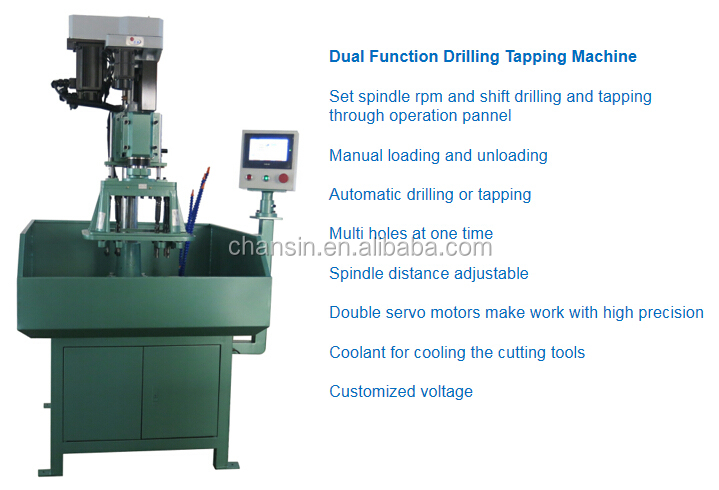 20 Year Factory OEM Fully Automatic Drilling Tapping Machine with Vibrating Bowl