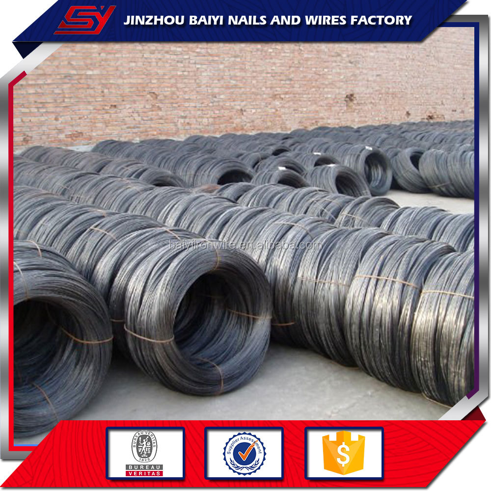 Baiyi 5 kg black annealed wire coil ( swg 20 # )