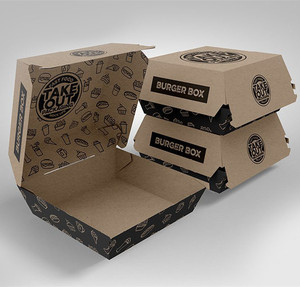 Fast Food Burger Packaging,Burger Boxes