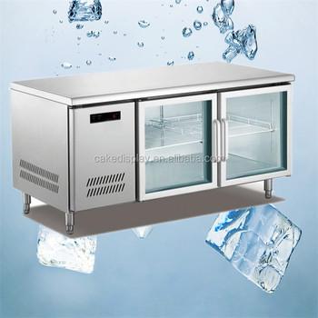 New Gl Door Under Bar Fridge Undercounter Freezer Price