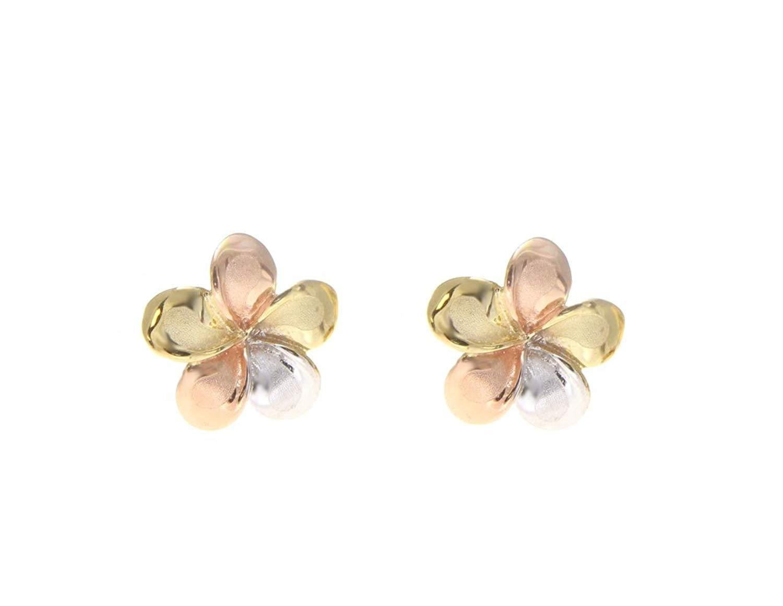 1fe37ff544244 Cheap Plumeria Gold Earrings, find Plumeria Gold Earrings deals on ...